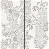 Панно 63*63 ILLUSIO GREY PATTERN (2 шт)