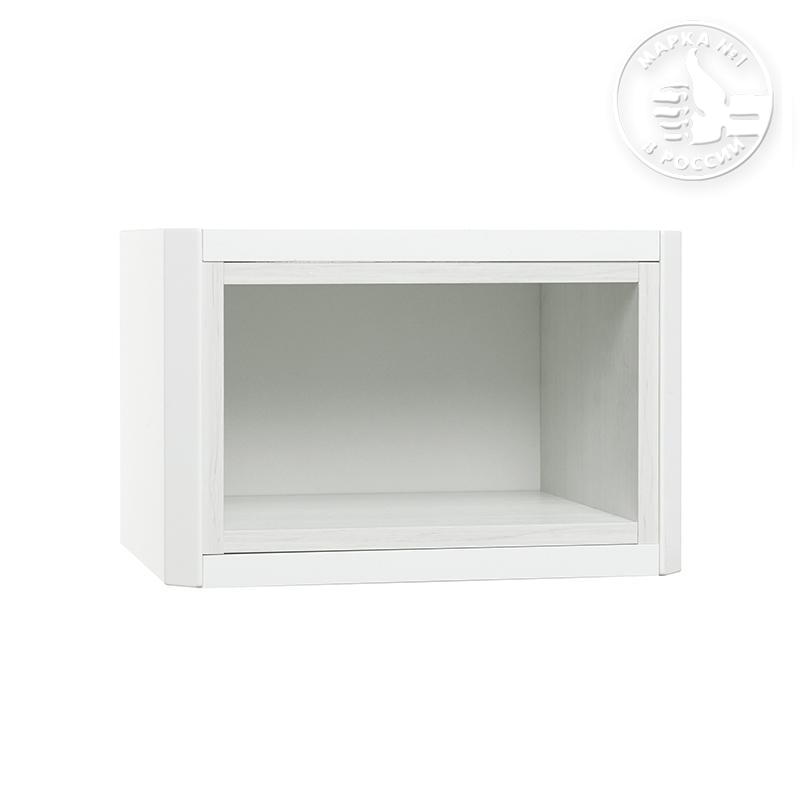 модуль д шкафа открытый акватон брук дуб латте 1a202603bcdl0